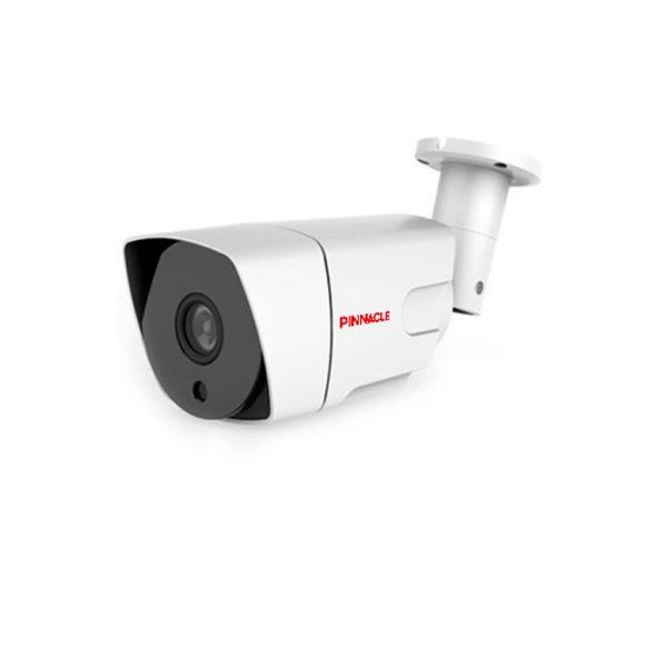 دوربین مداربسته PHC-C۴۲۲۳ : از سری استاندارد و دارای سنسور High Performance می باشد. دوربین بالت ۲ مگاپیکسل Turbo HD پیناکل مدل PHC-C4223 دارای سنسور High Performance می باشد. این دوربین با داشتن فیلتر به صورت مکانیکی True Day/Night آماده ضبط تصاویر حتی در فضای کم نور می باشد . دوربین های Turbo HD پیناکل، قابلیت پشتیبانی از ۴ تکنولوژی رایج سیستم های مداربسته را داراست، این بدین معناست که شما می توانید با انجام تنظیمات آن خروجی تصویر خود را به صورت HD-TVI، HD-CVI، AHD و آنالوگ داشته باشید. این دوربین دارای منوی OSD برای کاربری راحت منو و نیز قابلیت IR هوشمند برای دید در شب تا فاصله حداکثر ۳۰ متر می باشد. دید در شب و روز اینگونه لنزها قادر هستند با نو ۰.۱ لوکس و حتی در تاریکی مطلق نیز با سوئیچ با وضعیت سیاه و سفید به کار خود ادامه دهند و تصاویری با کیفیت ضبط کنند. با توجه به استاندارد IP66 بدنه مقاوم آنها امکان ورود آب و گرد غبار را به داخل دوربین نمی دهد. این دوربین ها معمولا بدنه ای فلزی دارند. دوربینی که دارای استاندارد IP66 باشد (در آب غوطه ور نکنید!) استفاده از دوربین هایی با این قابلیت معمولا در فضاهای بیرونی و مکان هایی که امکان خوردن آب و گرد غبار زیاد به دوربین وجود داشته باشد صورت می گیرد. دوربین مداربسته Turbo HD پیناکل مدل PHC-C4223 سنسور High Performance با عملکرد بالا قابلیت پشتیبانی از تکنولوژی های TVI,CVI,AHD و آنالوگ خروجی آنالوگ HD، تا رزولوشن ۲ مگاپیکسل فیلتر مکانیکی True Day/Night دارای لنز ثابت ۲.۸ و ۳.۶ میلیمتر دارای قابلیت Digital Wide Dynamic Range کاهش نویز دیجیتال (۳D-DNR) مجهز به IR هوشمند پشتیبانی از Motion Detection و Privacy Zone با قابلیت دید در شب تا فاصله حداکثر ۳۰ متر استاندارد IP66 برای مقاومت در برابر مایعات ،گرد و غبار