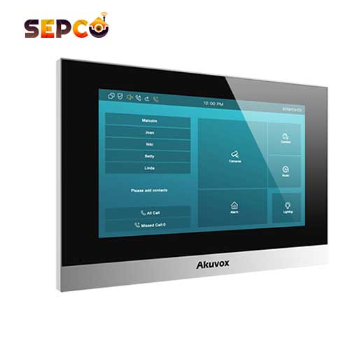 مانیتور تاچ پنل هوشمند آکووکس   Akuvox مدل C315W
