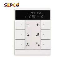 کلید 6 پل ساده سری Tenton دارای صفحه نمایش